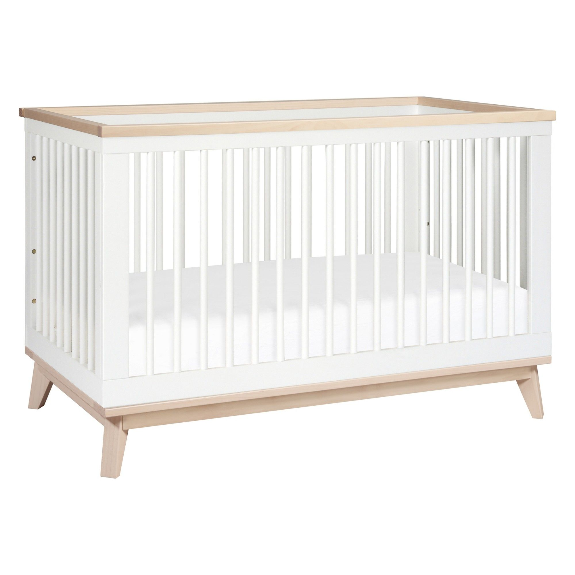 Babyletto Scoot 3-in-1 Convertible Crib With Toddler Rail