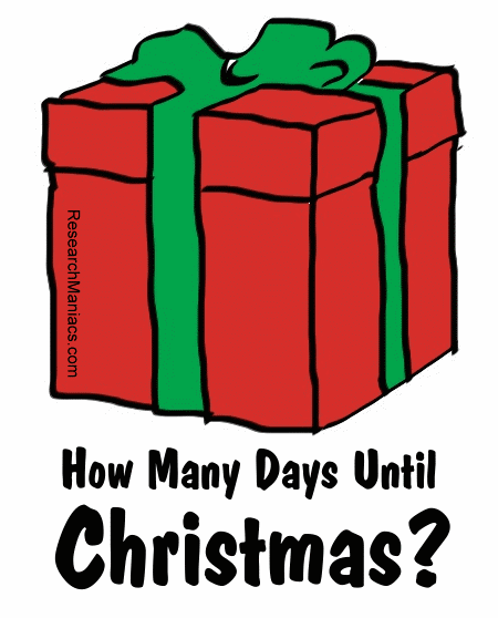 How Many Days Left Until Christmas.How Many Days Until Christmas Days Until Christmas Xmas