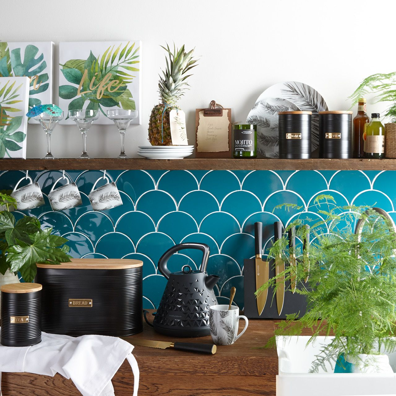 Bring the outdoors indoors with little tropical forest touches like ...