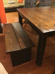 Lowes Tutorial For A DIY Dining Table And Bench Set Diy
