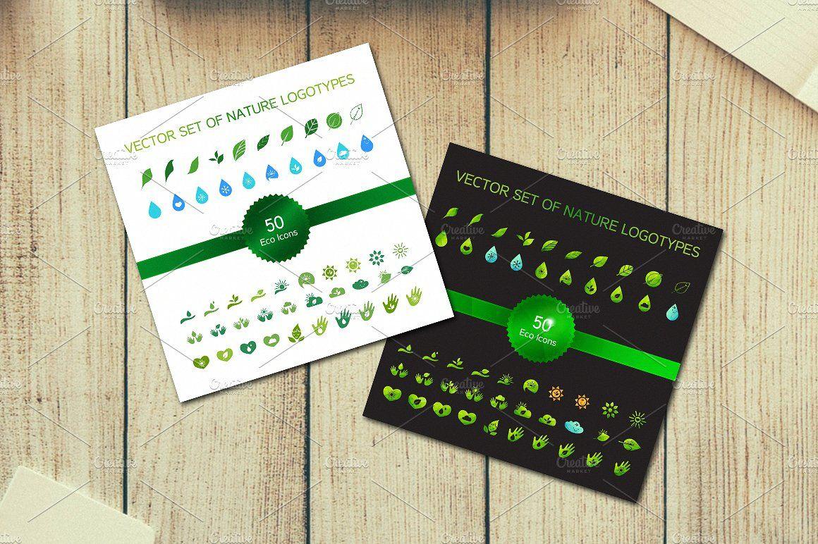50 Ecology Icons fillingpolygonalviewsuniform Icon