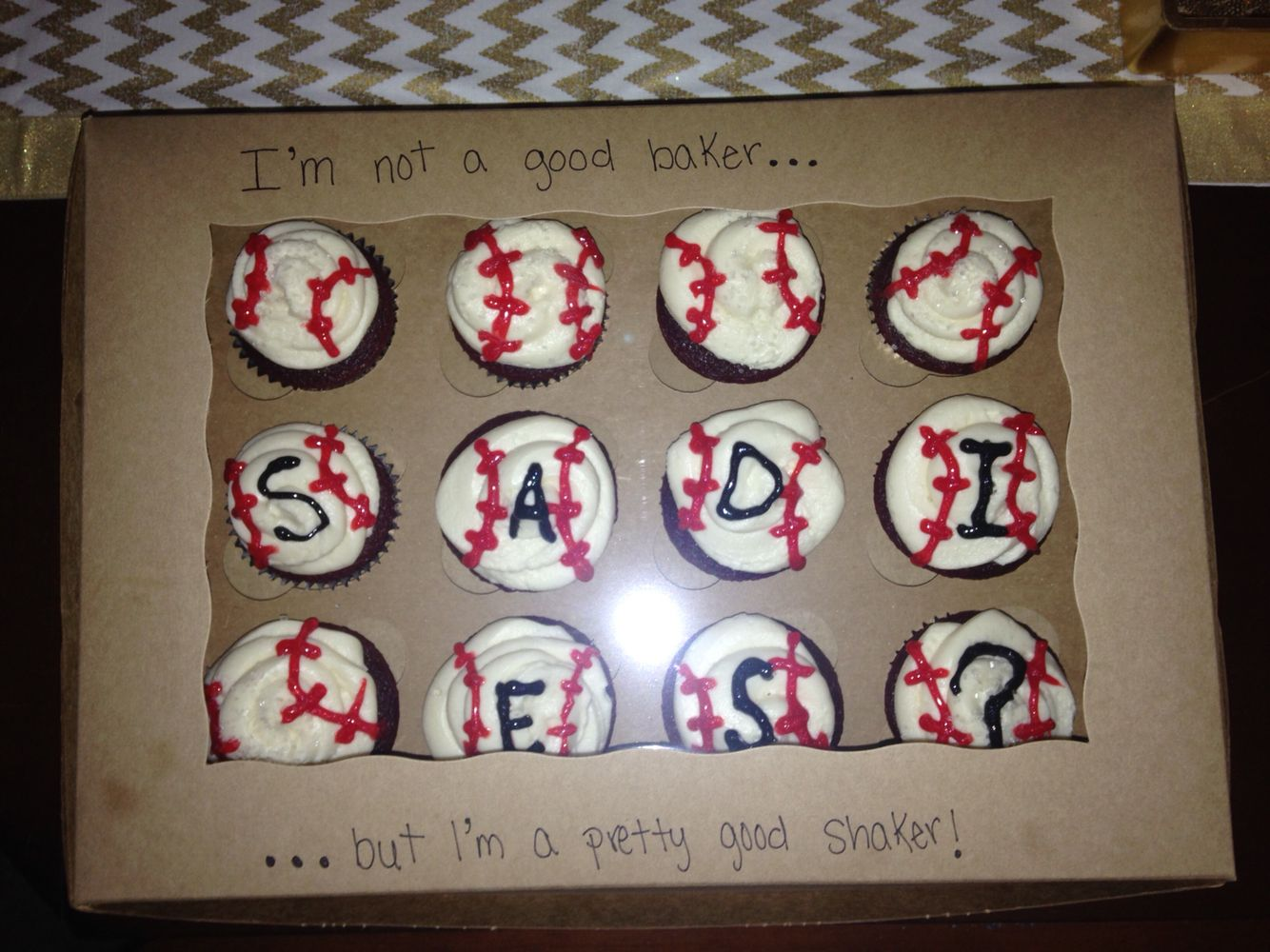 Cute ideas to ask a boy to sadie hawkins - How To Ask A Baseball Player To Sadies Sadies
