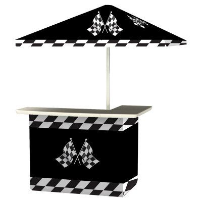 Best of Times Standard Package Patio Bar and Tailgating Center Black - 2001W1430
