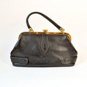 60s Bonita Bag Black now featured on Fab.