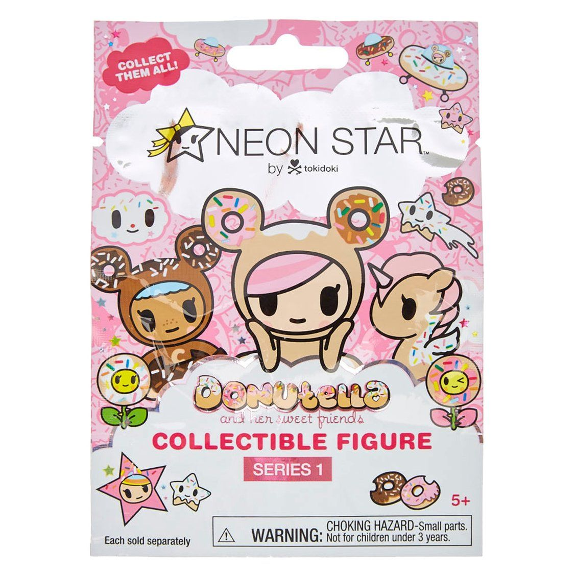 Neon star donutella collectible figure series 0 neon star captures series 0 neon star captures the undeniable cuteness of tokidoki the internationally recognized lifestyle brand meaning sometimes in japanese stopboris Choice Image