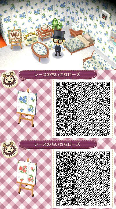 Spray Rose Animal Crossing Qr Animal Crossing 3ds Animal Crossing