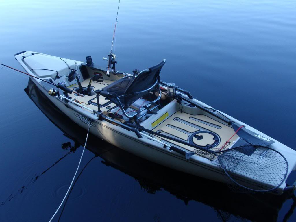 Seadek on hobie pro anglers fishing with seadek for Hobie fishing kayak