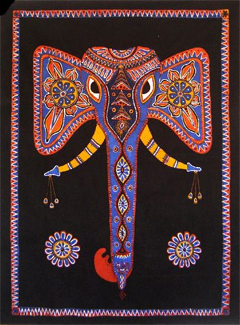 new style 18f8e f3946 Batik art. Elephant. | SRI LANKAN ART in 2019 | Batik art ...