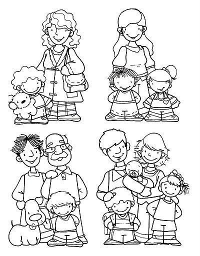 Fichas La Familia Buscar Con Google Educacion Kinder Schule Y