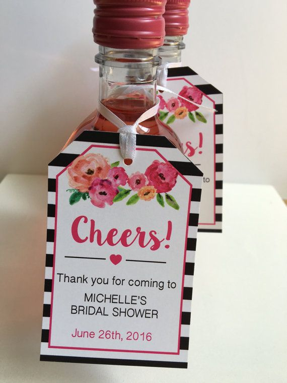 backyard bridal showers favor tags personalized wedding wine tags hey i found this really awesome etsy listing at httpswww
