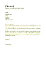 Resume cover letter (green)