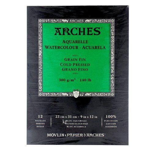 Arches Watercolor Pad Cold Press 9x12 Canson Http Www Amazon Com