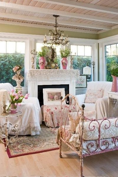 inspiring country chic bedroom decorating ideas | Romantic country magazine autumn 2012 | Shabby Chic ...