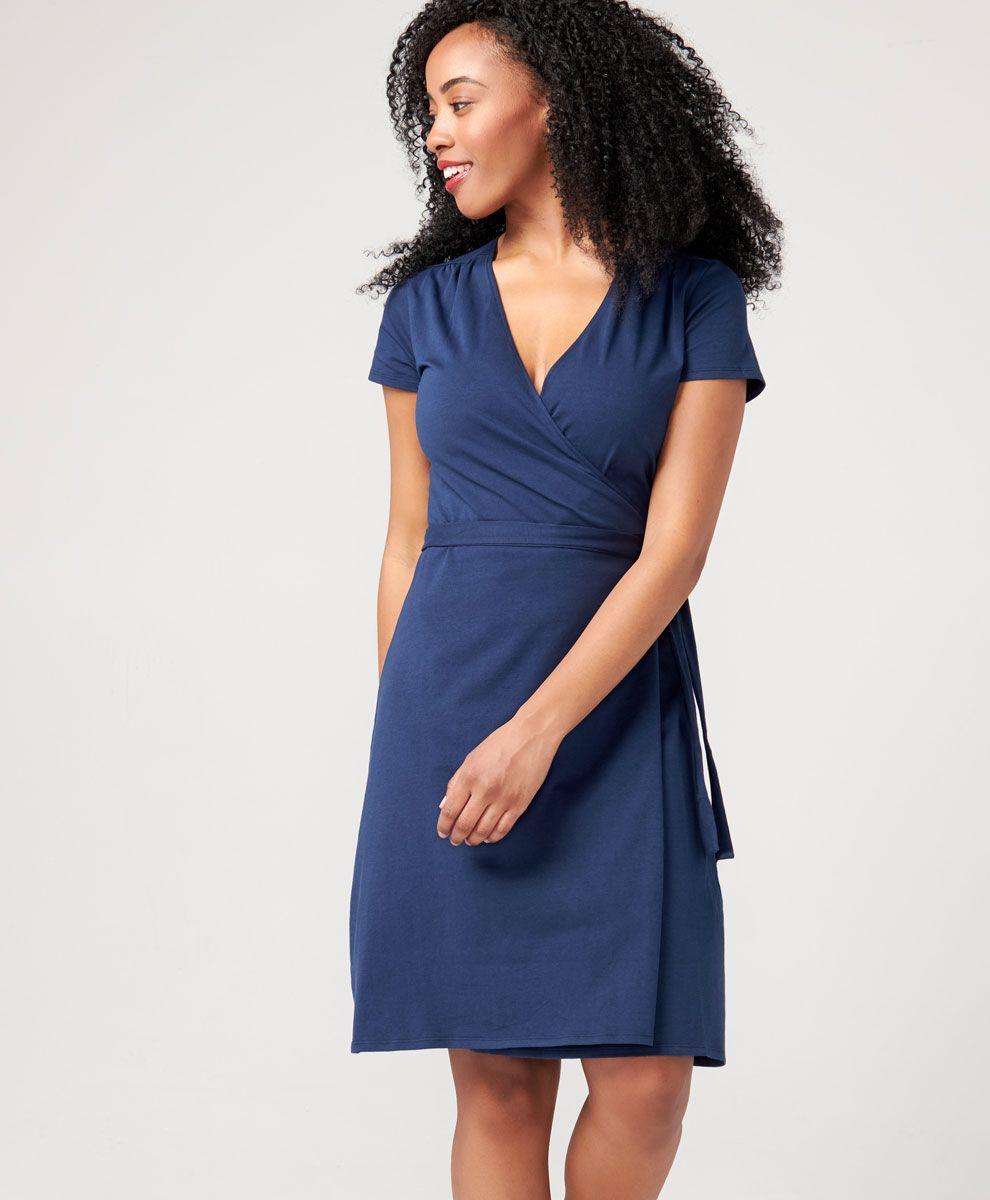 5e265e410389ef Women's Super Soft Organic Cotton Wrap Dress | PACT Apparel | Get in ...