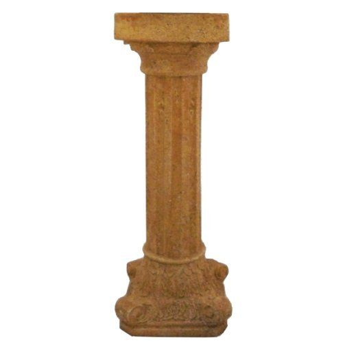 Very Cool Stuff RCGH21 Roman Column Globe Holder, 21-Inch Height by Very Cool Stuff. $59.89. Measures 21-inch height. 10-inch to 12-inch gazing ball on this roman column globe holder. Roman column globe holder. Constructed of durable resin and meticulously hand painted for years of use and beauty. This roman column globe holder is constructed of durable resin and meticulously hand painted for years of use and beauty. Add a dimension of interest to your garden or landscape by dis...