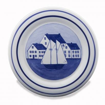Coastal Dinner Plate from Shard Pottery of Maine - $22. For every piece of pottery  sc 1 st  Pinterest & Coastal Dinner Plate from Shard Pottery of Maine - $22. For every ...