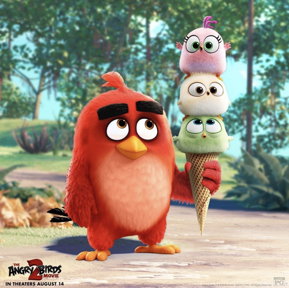 The Hatchlings Are At It Again Angrybirdsmovie Voiced By Brooklynn Prince Jojo Siwa Genesis Tennon Al Angry Birds Movie Angry Birds Angry Birds Characters