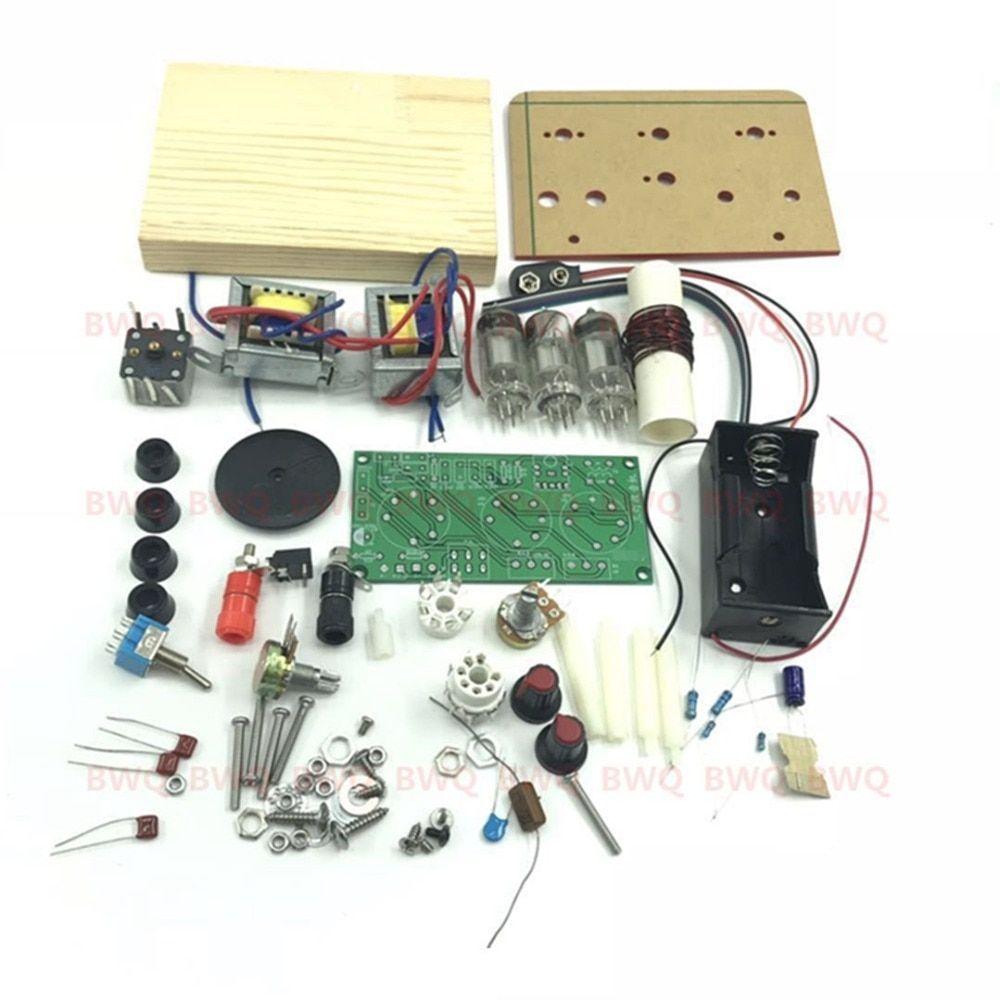 tube radio CW SSB receiver DIY KIT DC With the base /no ...