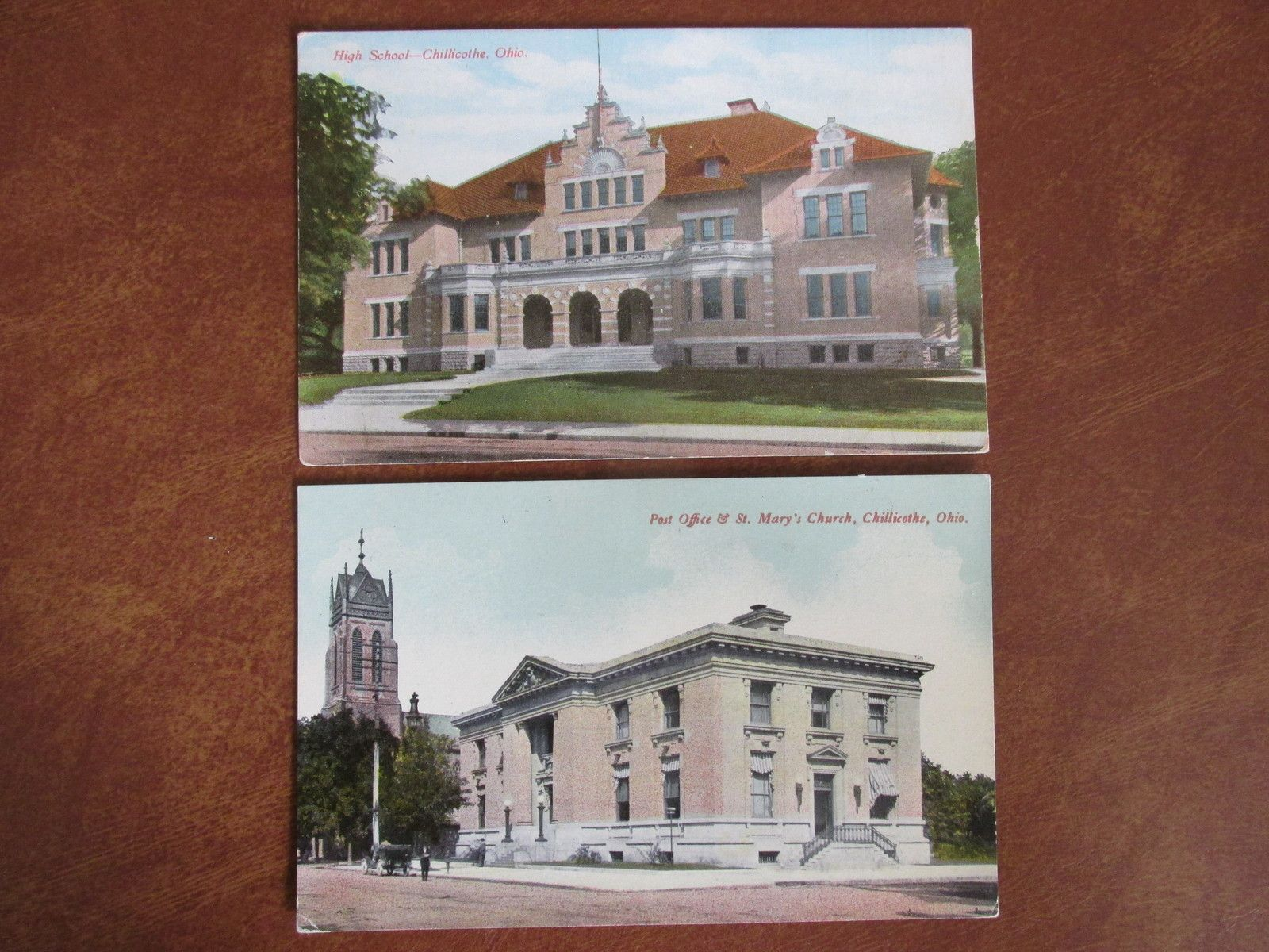Vintage Chillicothe Ohio Postcards Early 1900s