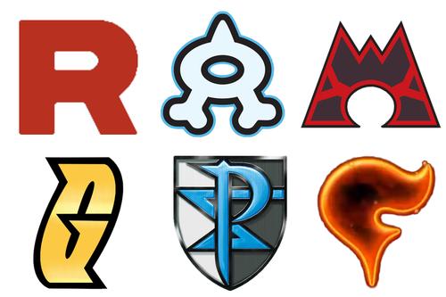 Pokemon Evil Teams Team Rocket Team Aqua Team Magma Team Galactic Team Plasma Team Flare Pokemon