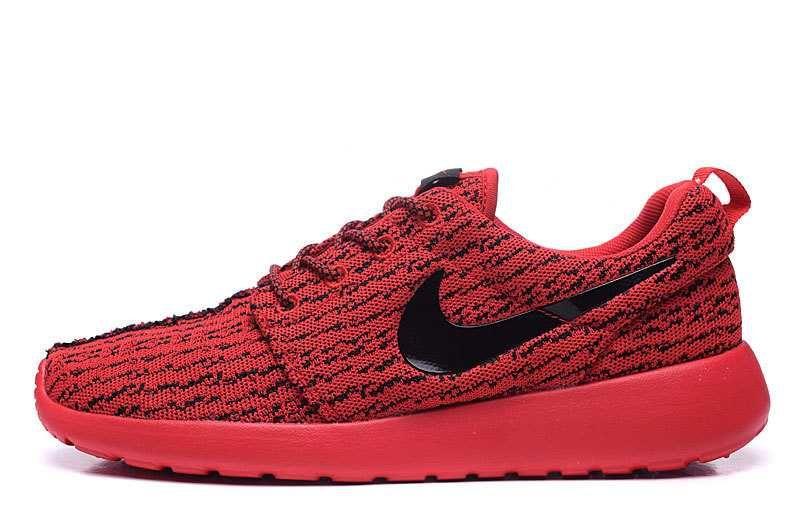 new arrivals e4027 cb3f1 1830   Nike Roshe One X Yeezy 350 Boost Herr Svart Crimson SE563819rfAtqCCKL