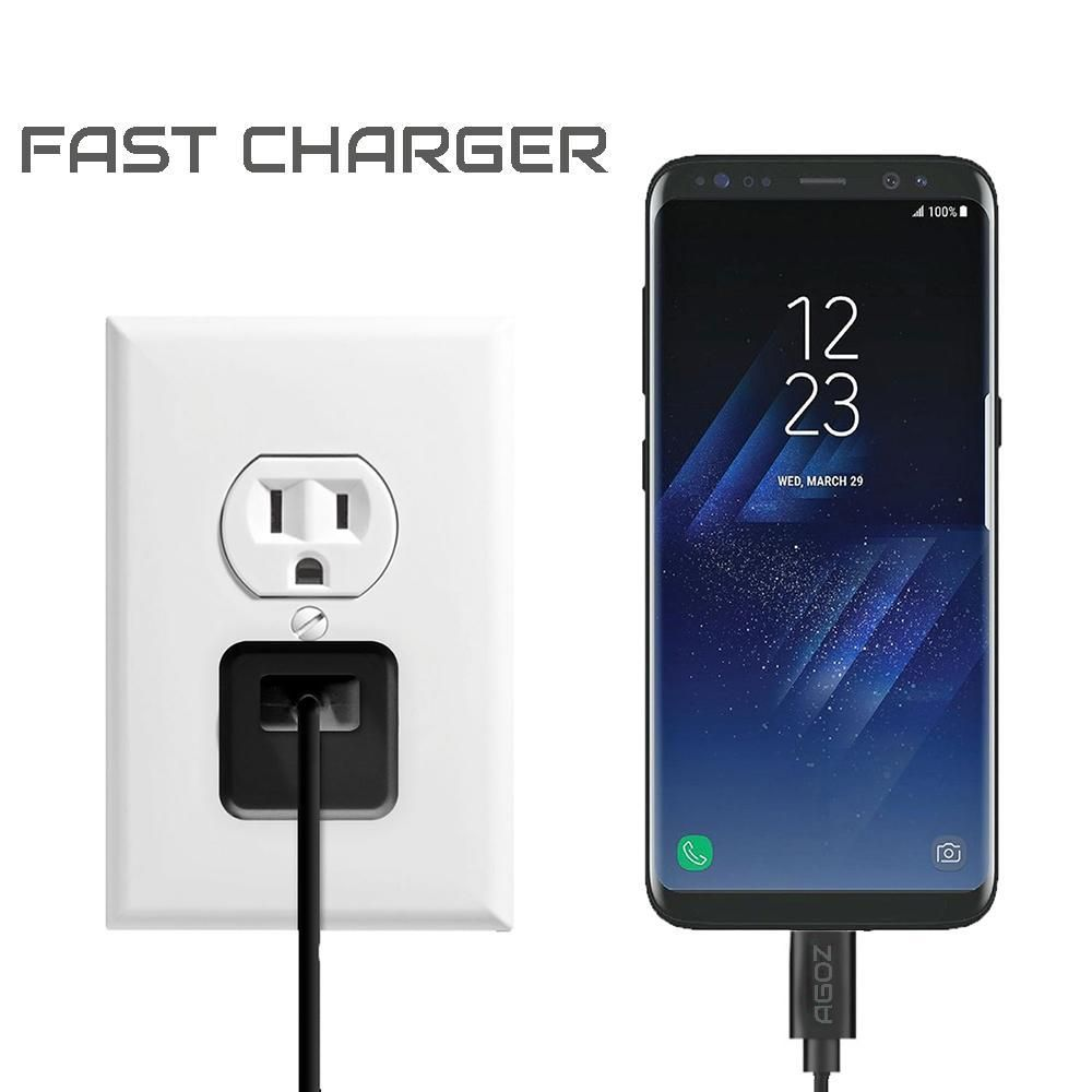 Adaptateur de chargeur domestique rapide avec câble micro USB pour LG