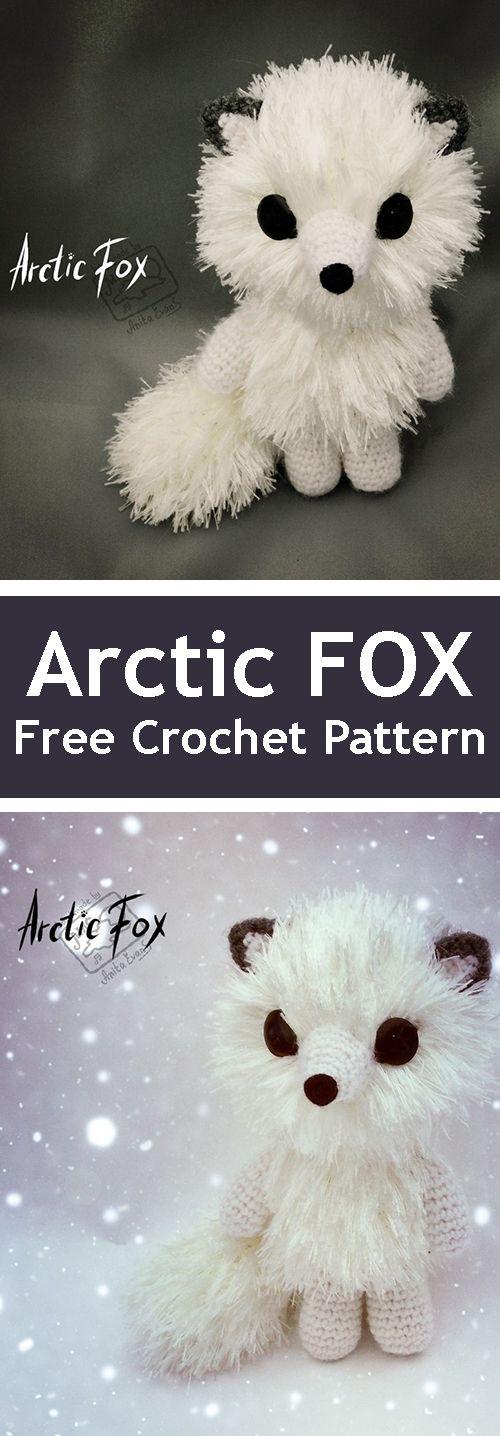 PDF Arctic Fox. FREE amigurumi crochet pattern. Бесплатный мастер-класс, схема и описание для вязания игрушки амигуруми крючком. Вяжем игрушки своими руками! Лиса, песец, лисица, лисичка, fox. #амигуруми #amigurumi #amigurumidoll #amigurumipattern #freepattern #freecrochetpatterns #crochetpattern #crochetdoll #crochettutorial #patternsforcrochet #вязание #вязаниекрючком #handmadedoll #рукоделие #ручнаяработа #pattern #tutorial #häkeln #amigurumis #amigurumitutorial