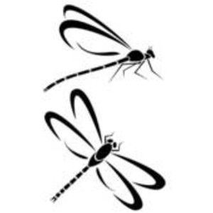 damselfly drawings dragonflies image vector clip art online rh pinterest com dragonfly vector art dragonfly vector art