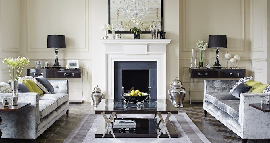 Luxury townhouse interior design townhouse interiors for Interior design south london