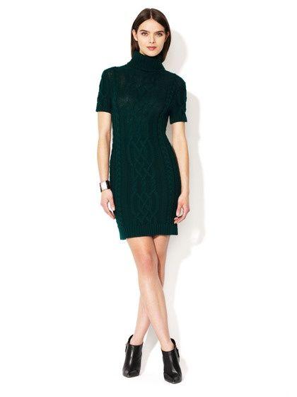 wool knit sweater dress. #Cloths #Fashion #shoes