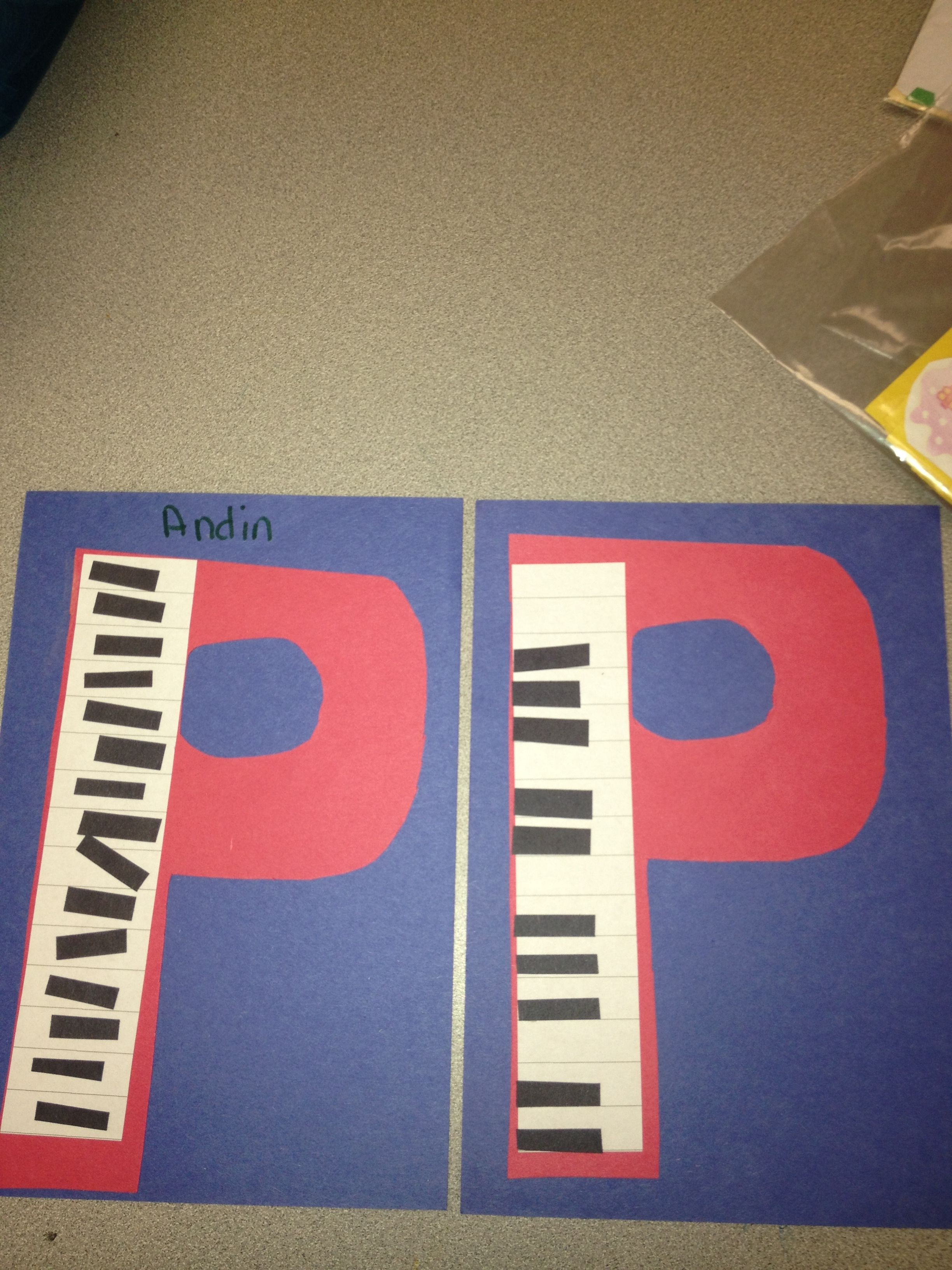 P Is For Piano