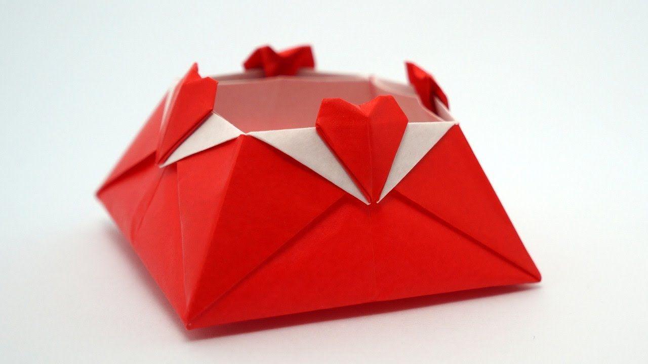 Origami Love Box Jo Nakashima Origami Love Valentines Origami Origami Box