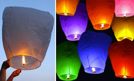Floating Chinese Lanterns - found on MooLaLa (they are on special $19/10 Lanterns) http://iheartpgh.moolala.com/deals/deal/PHDWEGY/the-hipster/?pid=TQU4JCQ&cid=Q5DWAX9