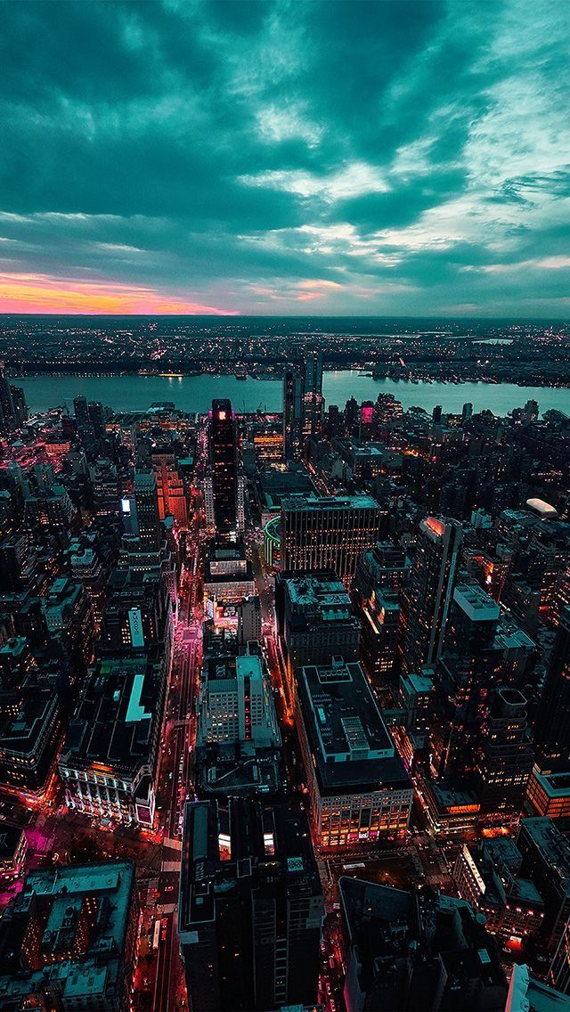 Pin By Ouweys Aissi On Avy City Aesthetic Sunset Iphone Wallpaper City Iphone Wallpaper