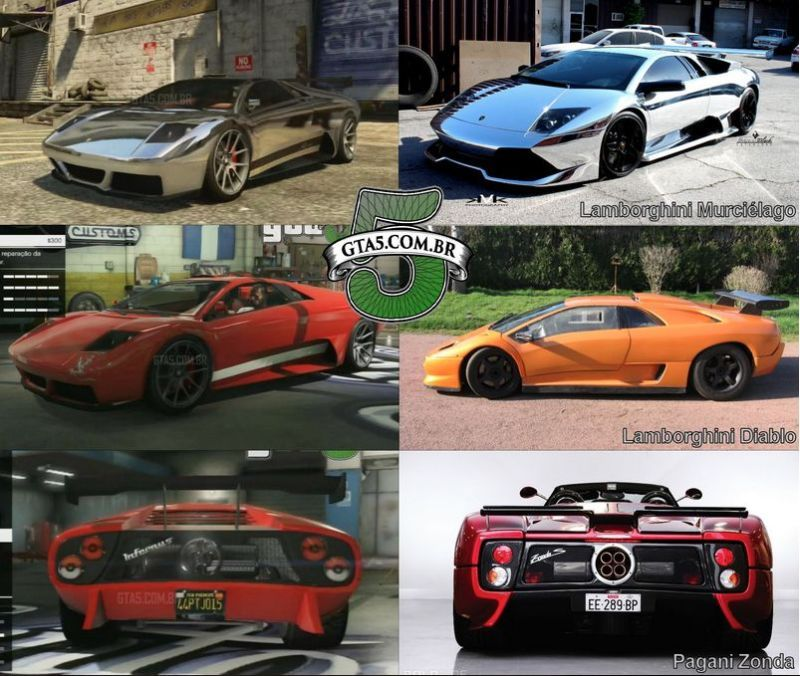 5 Of The Coolest Gta V Cars Gta Cars Gta Game Gta V