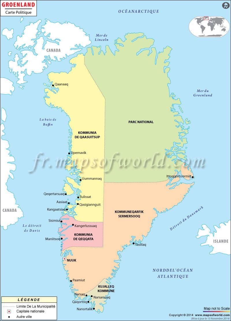 groenland carte map of greenland carte du monde pinterest. Black Bedroom Furniture Sets. Home Design Ideas