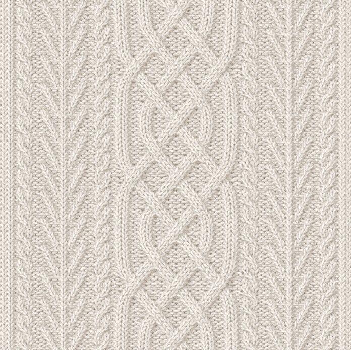 Zopfmuster                                                                                                                                                                                 Mehr #knittingdesigns