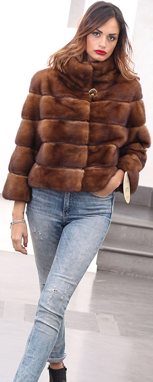 Fur Coat Jacket Mink Pelz Pelzmantel Nerz Fourrure Pelliccia Visone МЕХ  НОРКА  4744d02df88