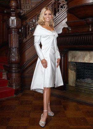 Short Wedding Dresses For Older Brides Here S A 2 Piece