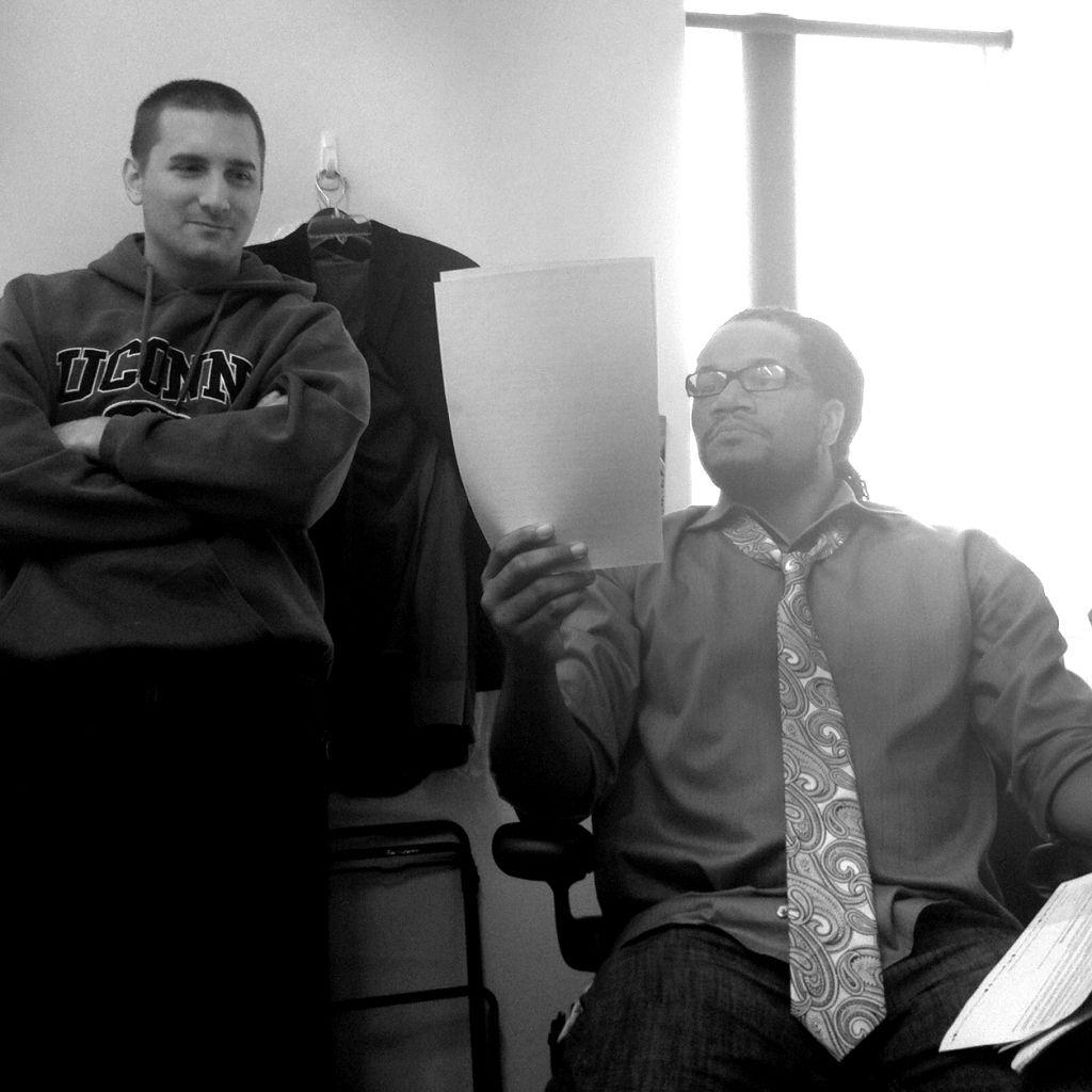John Iadarola & Jayar Jackson prepping for The Young Turks ...