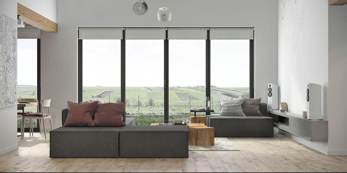 Apartment Decorating For Living Room Wohnung Design, Weise, Farbkonzept,  Wohnzimmer Ideen, Farben