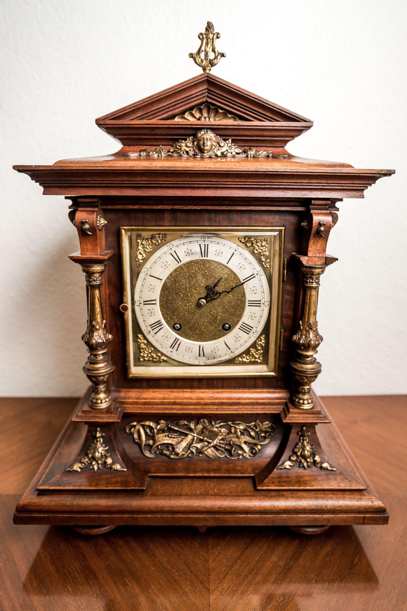 Uhren Stilvolle Gründerzeit Antiquitäten Gründerzeit Antike Uhren Standuhren