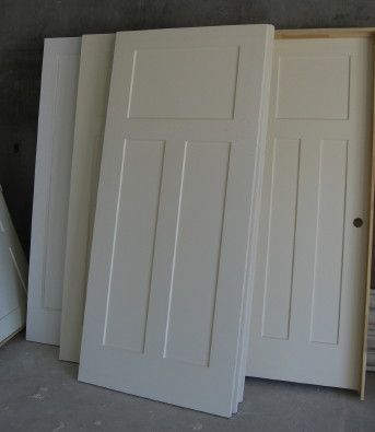 Home decorating arts and crafts style doors