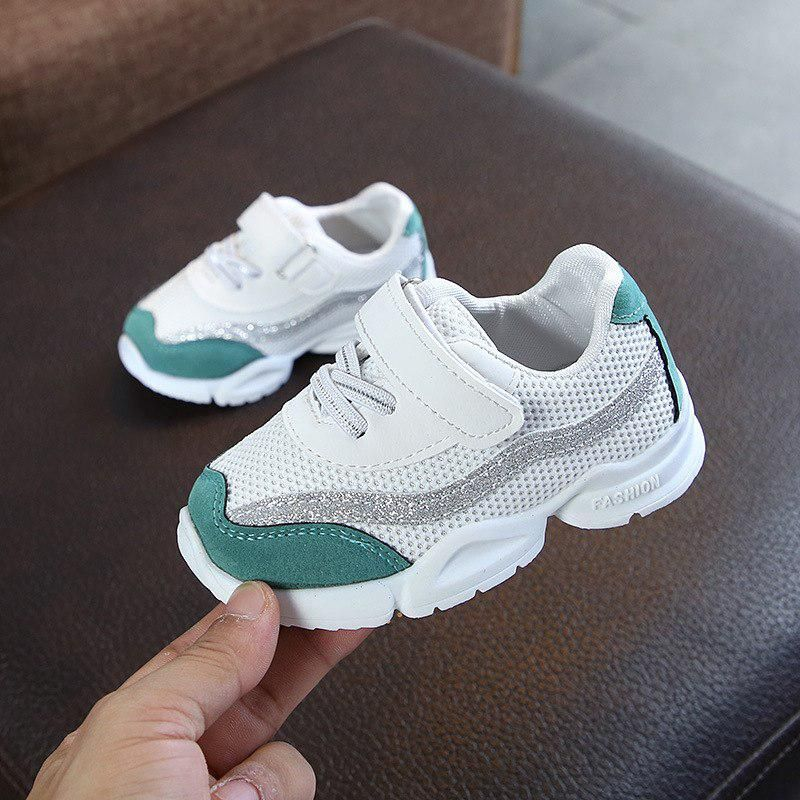 Boys Girls Tennis Sport Running Shoe Casual Breathable Baby Infant Sneaker Shoes
