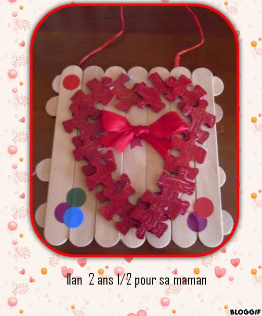 cadeau saint valentin bricolage