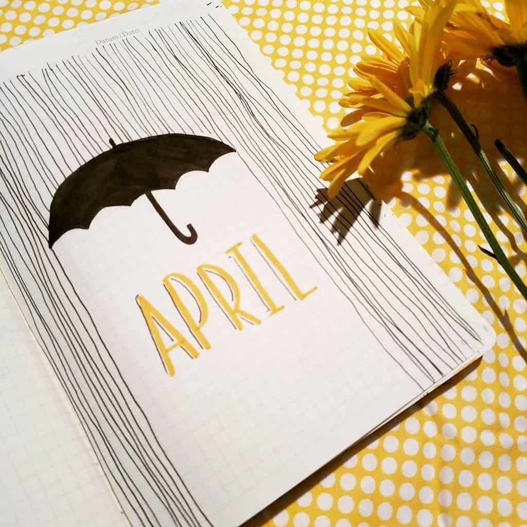 Inspirational Spring Bullet Journal Theme Ideas