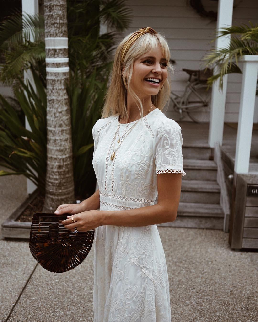"74eb1ba5a97 Saasha on Instagram  ""White summer dresses...  forevernew official   forevernewstyle"" • Instagram"
