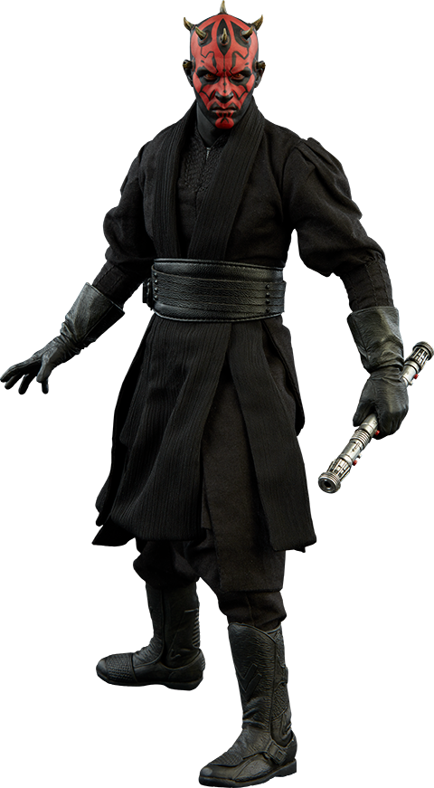 Darth Maul Duel On Naboo Sixth Scale Figure By Sideshow Collectibles Darth Maul Star Wars Collection Sideshow Collectibles