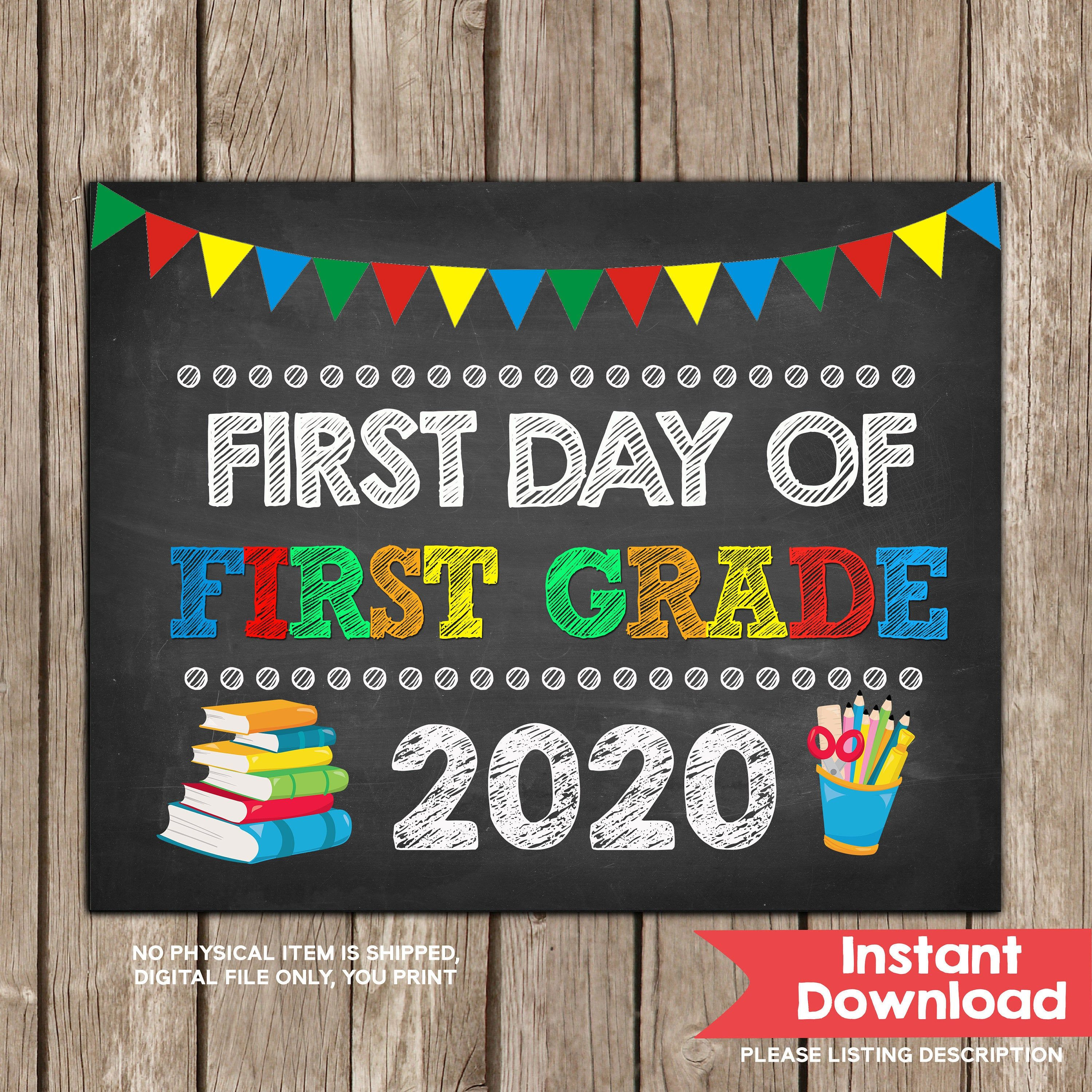 Third Grade Physical Therapy First Grade Graduation Sign Pre-School Instant Download Kindergarten Second Grade Moving Up