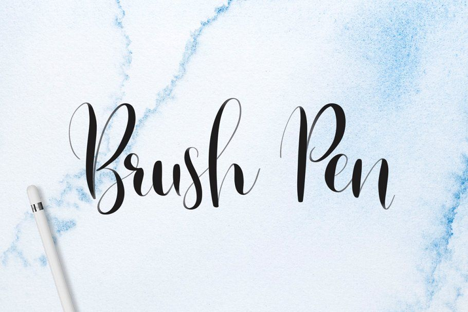 Download Lettering Brush Pack for Procreate | Hand lettering ...